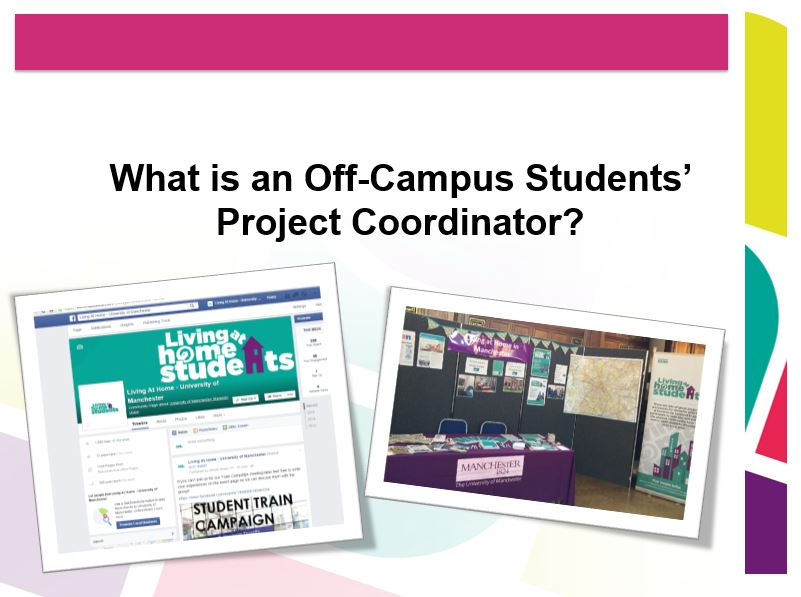 Off Campus Students' Projects Coordinator