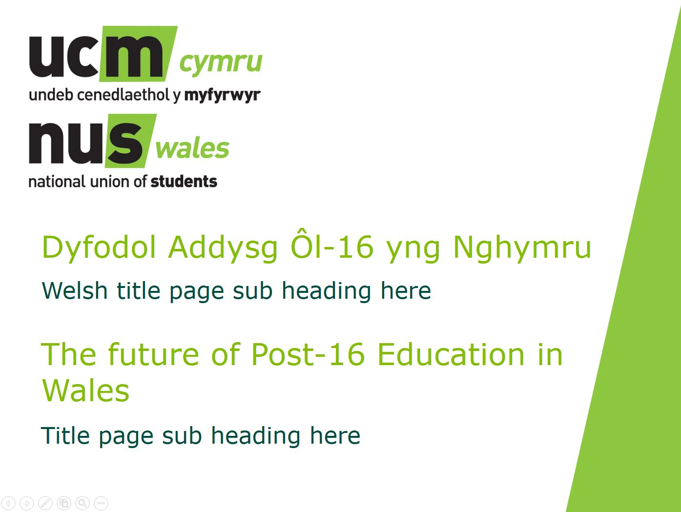 The future of post-16 education in Wales