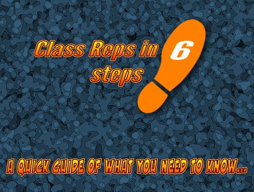 Class reps in 6 steps